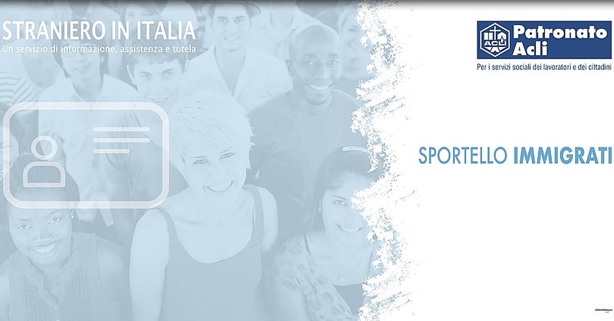 Sportello Immigrati Acli Provinciali Pisa